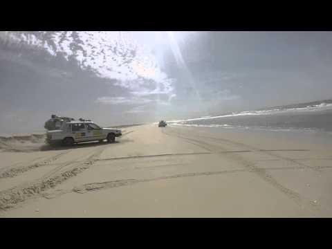 Dag 19 Amsterdam Dakar vliegende start op het strand