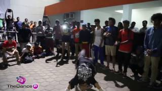 Bgirl MuSick(FnS) vs  Bboy Likith Final Battle One Love Cypher