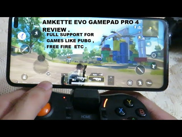 Amkette Evo Gamepad Pro 4 Review & How to Use On Android Guide Gamepad with PUBG , FREE FIRE Support