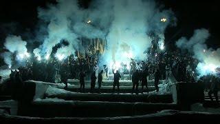 Смолоскипна хода з фаєрами «за порядок в Україні» у Харкові