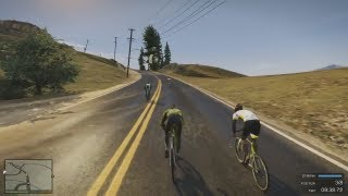 GTA 5 BIKE RIDING GAMEPLAY
