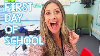 LET'S TEACH! - First Day of School Vlog