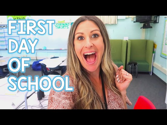 LETS TEACH! - First Day of School Vlog