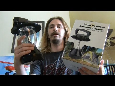 Solar & Crank Lantern Review