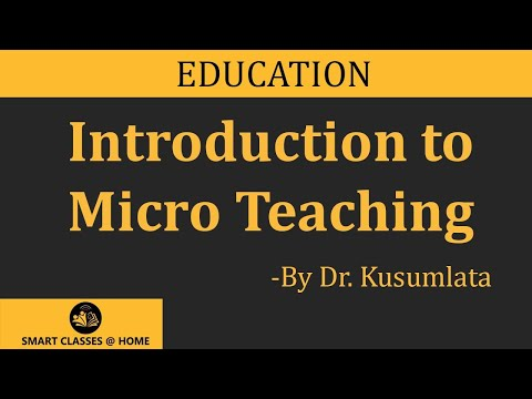 micro teaching lecture by dr kusumlata bed youtube