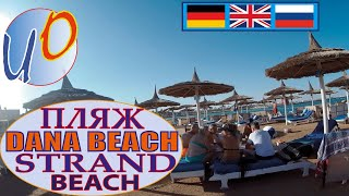 Dana Beach Resort Albatros 5 Дана Бич Beach Strand Пляж Hurghada Egypt 2020 year