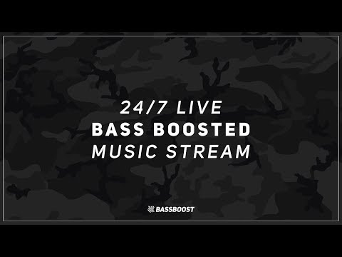 Bass Boost || 24/7 Bass Boosted Music Radio Livestream | Trap, EDM, Bounce, Chill & Rap