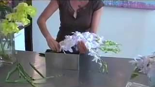 Floral Design Courses Nyc | Modern Flower Arrangements With Orchids | Iris Rosin