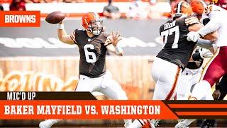 Baker Mayfield vs. Washington   Mic'd Up