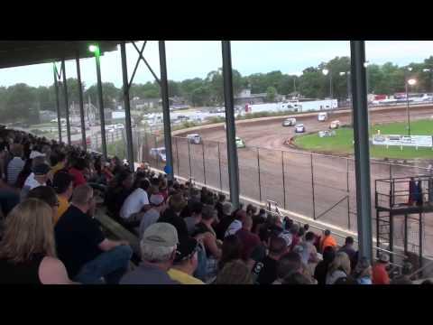 Cory Mahder - June 21st, 2013 - 1st Place - Heat - Red Cedar Speedway