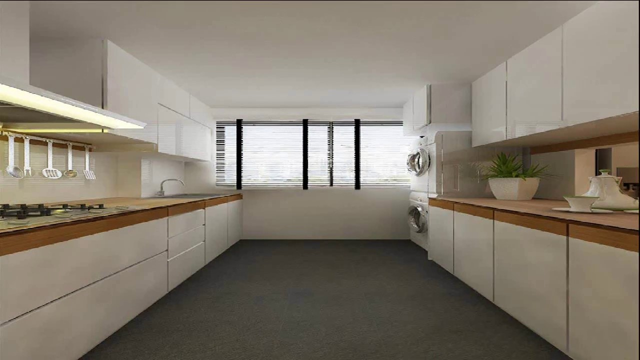 Kitchen Design For 5 Room Hdb Flat  YouTube