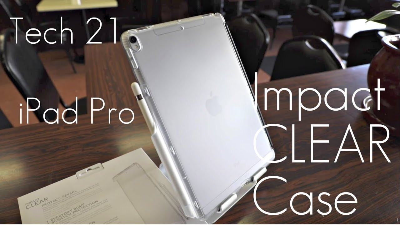 best sneakers d9b24 42bb3 The Perfect iPad Pro Case? - Tech 21 Impact Clear Case - iPad Pro 10.5' -  Review / Demo