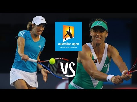 Justine Henin VS Elena Dementieva Highlight Australian Open 2010 R2