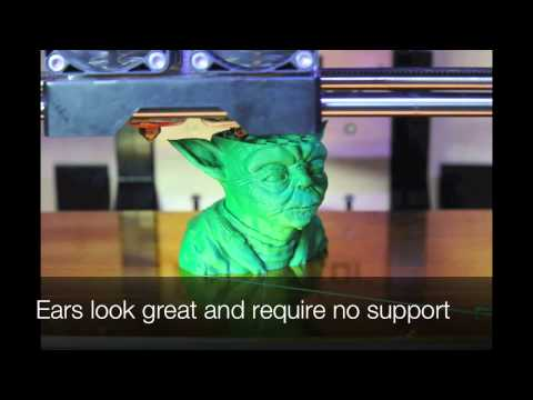 3D Printing Time Lapse Photography - Yoda