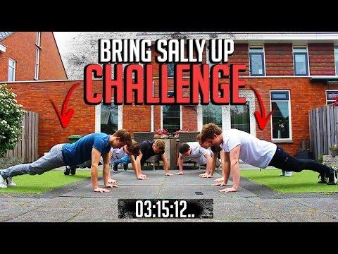 Bring Sally Up CHALLENGE! - Push Up Challenge
