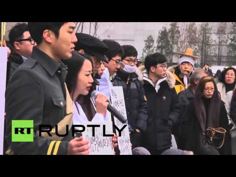 South Korea: Hundreds protest 'comfort women' agreement with Japan