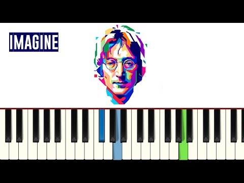 💎John Lennon - Imagine - Piano tutorial - MASTER TECLAS💎
