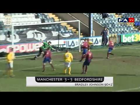 Manchester FA Vs Bedfordshire FA: The FA County Youth Cup Final