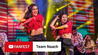 Team Naach @ YouTube FanFest Mumbai 2019