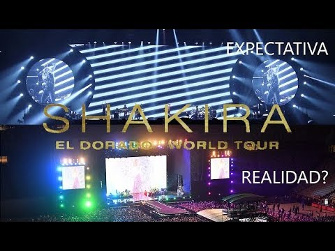 El Dorado World Tour  ESCENARIO MEXICO