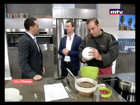 Whats Cooking - Buche Chocolat - 21/12/2014