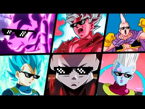 TOP 5 MELHORES TURN DOWN FOR WHAT DRAGON BALL SUPER | #1