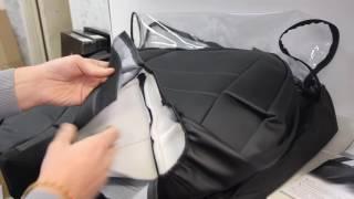Авточехлы из экокожи Sintex, обзор