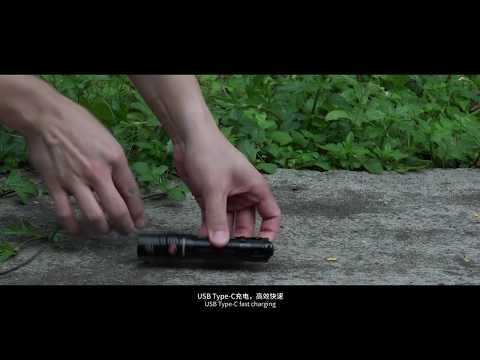 Fenix PD36R - Usb Type-C Rechareable Tactical Flashlight