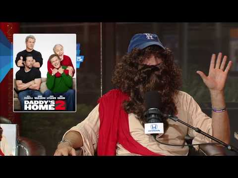 """Daddy's Home 2"" Star Will Ferrell Dresses in Jesus Costume; Joins The Rich Eisen Show In-Studio"