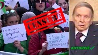Manifs en Algérie : le JT officiel en parle enfin mais... d'une drôle de façon!