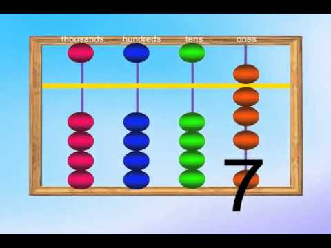 Abacus Intro for kids - YouTube