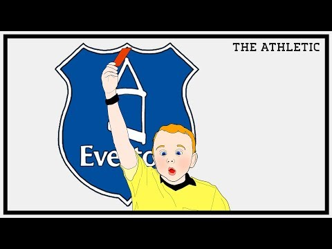 Two Up Front Red Cards Everton & The History of Tactics