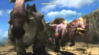 monsterhunter with Disneys Dinosaur music