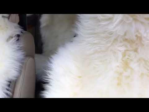 Меховые накидки овчина