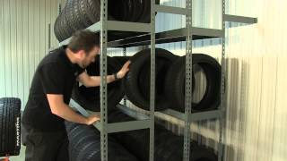 MTS - Tire Shelving Racks - Martins Industries