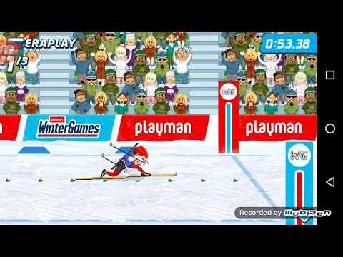 Играем с друзьями в Playman Winter Games