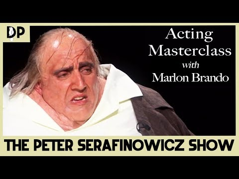 Acting Masterclass with Marlon Brando - The Peter Serafinowicz Show | Dead Parrot