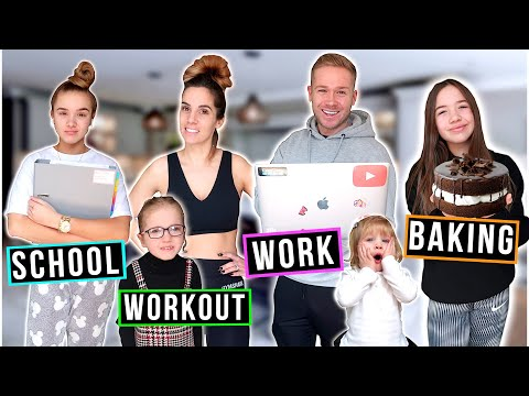NEW HOME SCHOOL ROUTINE! *IS ROLAND LIVING WITH US?!