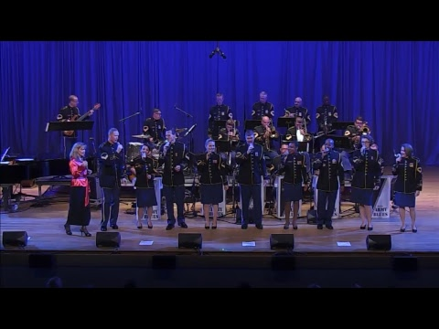 The U.S. Army Voices with guest vocalist Tish Oney and The U.S. Army Blues