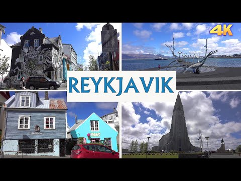 REYKJAVIK - ICELAND 2021 4K