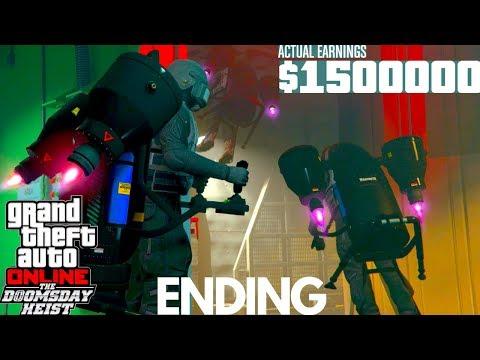 Ending The Doomsday Scenario Heist ACT 3 GTA 5 Doomsday Heist DLC Update