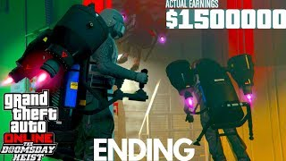 Video Ending The Doomsday Scenario Heist ACT 3 GTA 5 Doomsday Heist DLC Update download MP3, 3GP, MP4, WEBM, AVI, FLV April 2018