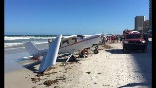 Pilot survives plane crash into ocean off Daytona Beach Shores