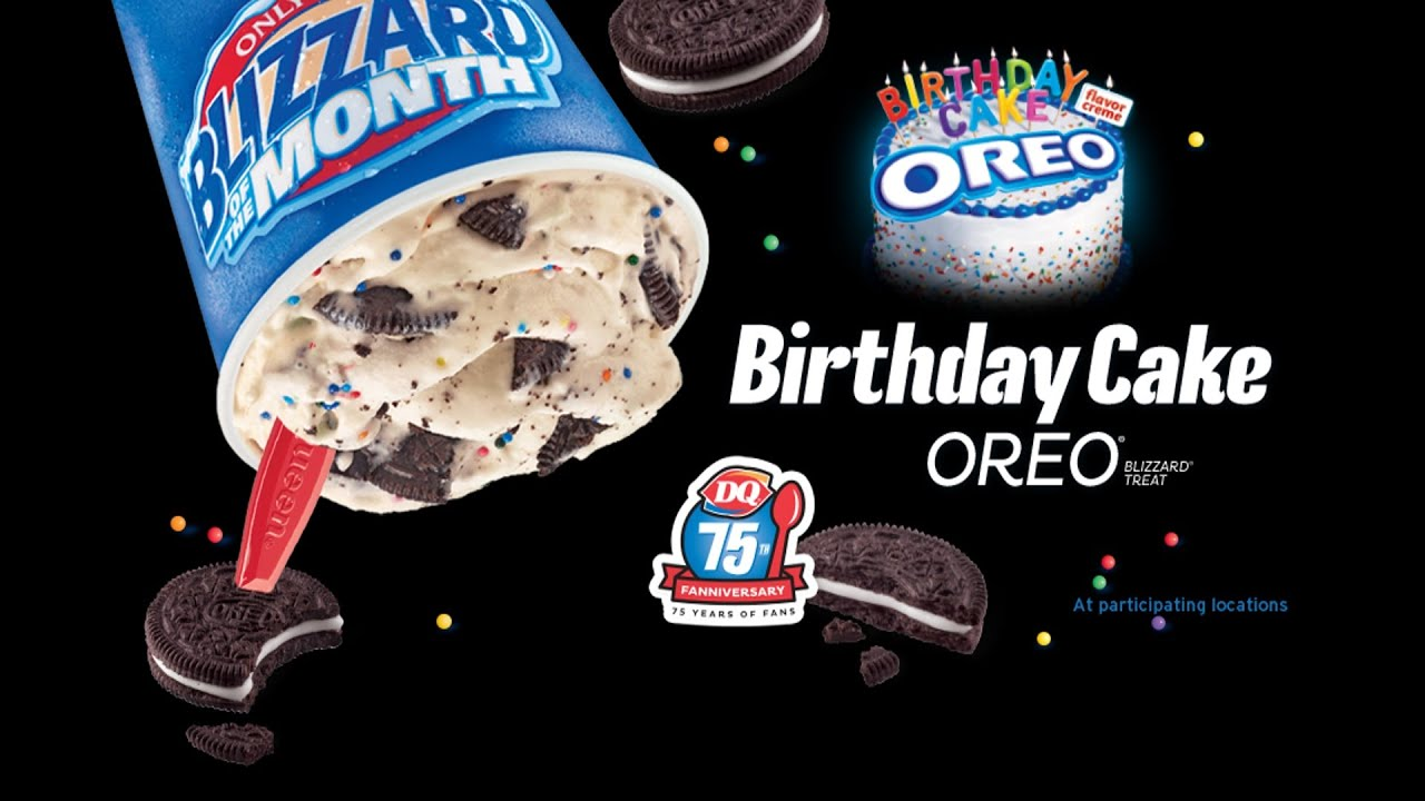 CarBS Dairy Queen Birthday Cake Oreo YouTube