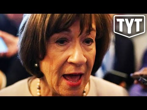 Susan Collins OWNED For Lying