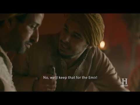 Vikings S05E05 - Bjorn eats dinner with Ziyadat Allah