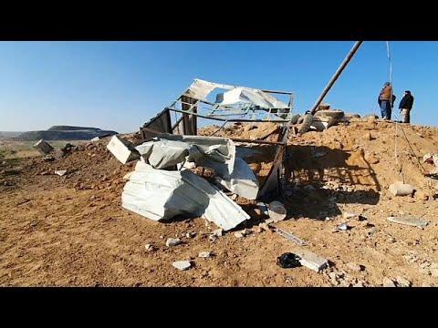 Israeli Warplanes Strike Gaza In Retaliation For Failed Rocket Attack