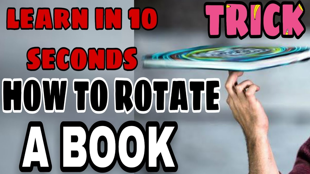 Download How to Rotate a Book | learn in 10 seconds | Total Tutorial