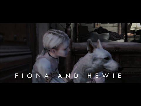 Haunting Ground - Fiona befriends Hewie