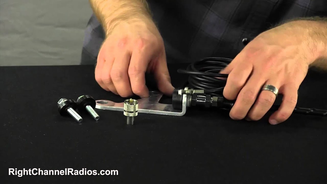 JK Jeep Wrangler CB Antenna Mount & Kit